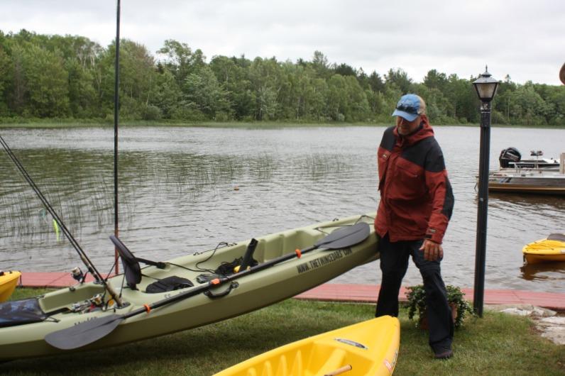 2nd annual kayak bass tournament at twin cedars resort for Kayak fishing tournaments