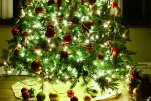 So this is Christmas…finally a tree in the resort house