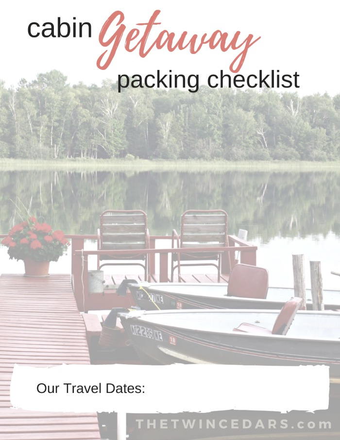 Stay Sane While Planning Your Getaway FREE Printable Has What You Need For The Kitchen Personal Items Outdoors Extras PLUS Everything Wont