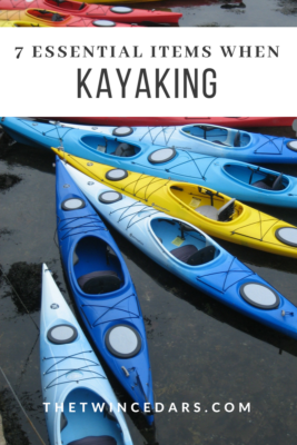 7 essential items when kayaking in Michigan