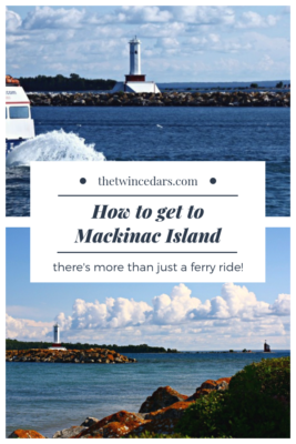 How to get to Mackinac Island in Michigan